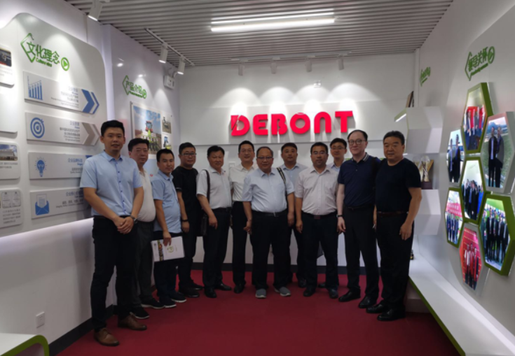 Investigation Group of Changji Prefecture of Xinjiang visited Debont
